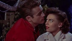 James Dean and Natalie Wood in Rebel Without a Cause (1955).