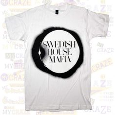 SWEDISH HOUSE MAFIA Logo Womens White T-Shirt