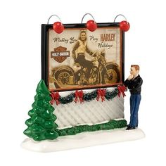 Department 56 Dreamin Of A Harley Holiday 56.4035928