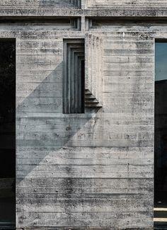 Tomba Brion Cemetery, San Vito d'Altivole Italy | Carlo Scarpa | Photo : August Fischer