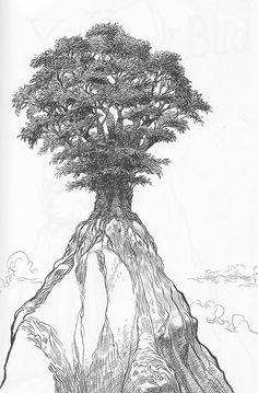 Tree Top.- Chris Riddell