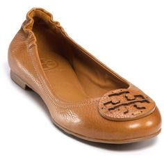 Tory Burch Flats - Reva Ballet ($195) ❤ liked on Polyvore