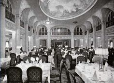 First Class Dining Saloon of the RMS Majestic