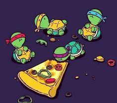 Ninja Turtle cute babies