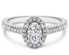 Elegant Affordable Custom Moissanite by SolitaireRingJeweler Oval Halo Engagement Ring, Dream Engagement Rings, Diamond Wedding Rings, Wedding Bands, Solitaire Ring, Wedding Engagement, Moissanite Diamonds, One Ring, Bridal Rings