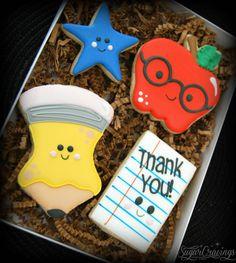 Teacher/Staff Appreciation cookies