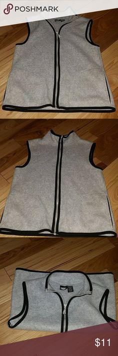 Black & Grey women's vest Lightweight black and gray women's size small vest. Pure Energy Jackets & Coats Vests