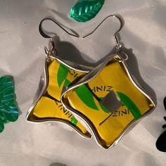 Bijoux boucles d'oreille capsules nespresso brazil