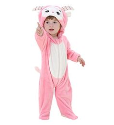 Yxjdress Cute Sheep Sleepwear Baby Onesies Animal Cosplay Pajamas Kigurumi *** Read more @