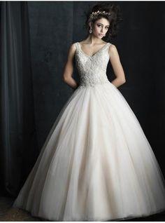 church tulle ball gown bridal wedding dresses