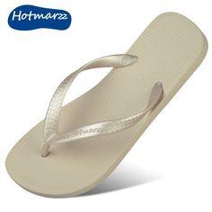25b966907fe1d Hotmarzz Flip-flops Shoes Summer Beach Flat Slippers