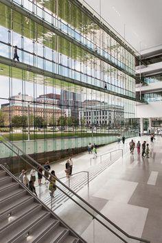 Centro Global para la Innovación en Salud, Cleveland, OH - LMN Architects - © James Maguire