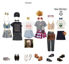 Kpop(Melody)-Smrookies debut teaser by k-p0p on Polyvore featuring polyvore fashion style Mishka WithChic Topshop JC de Castelbajac StyleNanda STELLA McCARTNEY Zimmermann Nature Breeze Dr. Martens New Balance Yves Saint Laurent Effy Jewelry Bing Bang Givenchy Anissa Kermiche Nach Bijoux Jennifer Zeuner Carbon & Hyde Chanel ZeroUV NIKE Paloma Barceló clothing
