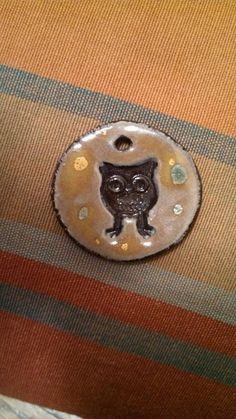 Wee Owl Pendant or Ornament by mymotherswish on Etsy, $10.00