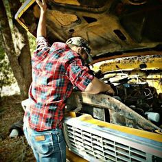 a cute country boy to take care of all the mechanical stuff. and well to love too. but mostly the mechanical stuff :)