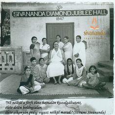 A nő, Szvámí Sivánanda, a nagy jógi szemével