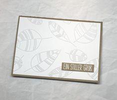 Karten-Kunst » Trauerkarte – mal ganz ohne Schwarz und Grau