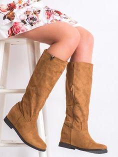Semišové čižmy s cvokmi Nose Types, Steve Madden, Riding Boots, Fall Winter, Heels, Casual, Gender Female, Products, Fashion