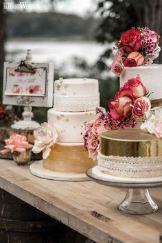 Wedding cakes with Rustic Elegance | Concept Creation, Floral Design & Stationery: Luluthia Design | Wedding Cake: San Pietro Bakery | Boho Glam