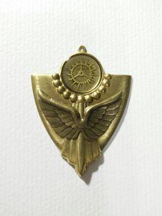 Cast #resin #steampunk #clockwork #gears #jewelry #pendant I made.
