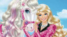 Barbie & Her Sisters in A Pony Barbie full Episodes ☆ Disney. Barbie Et Ken, Barbie Life, Barbie Dolls, Drawing Tutorials For Kids, Drawing For Kids, Art For Kids, Betty Boop, Barbie Pony, Barbie Horse