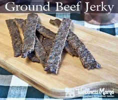 This ground beef jerky is easy to make and customize and is much cheaper to make than traditional jerky.