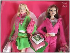 2004 JUICY COUTURE Gold Label BARBIE DOLL Set G8079 ~ New in Box