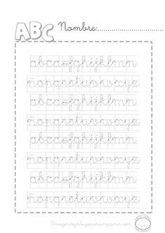 Caligrafia para imprimir   Calligraphy  Pinterest  Caligrafa