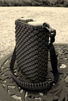 Crochet this super useful paracord backpack !! PDF pattern from ...