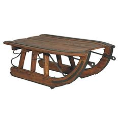 Logging Sled Coffee Table - $1,294.95