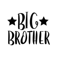 Free Big Brother SVG Cut File SVG cut files for the Silhouette Cameo and Cricut. Craftables: Fast shipping, responsive customer service, and quality products Cricut Svg Files Free, Free Svg Cut Files, Promoted To Big Brother, Family Stickers, Cricut Tutorials, Cricut Ideas, Art Drawings For Kids, Silhouette Cameo, Silhouette Portrait