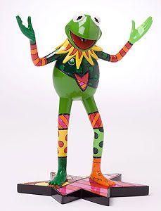 The Muppets - Kermit The Frog - Romero Britto - World-Wide-Art.com - $60.00 #Britto #Disney #Muppets #Kermit