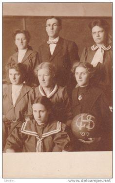 RP: Female Basketball Team , SPEARFISH , South Dakota , 00-10s - Delcampe.com