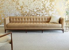 American Leather : Luxe Sofa