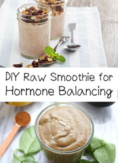 This raw smoothie for hormone balancing is veery delicious and healthy. The key ingredient that regulates hormones product is maca powder.