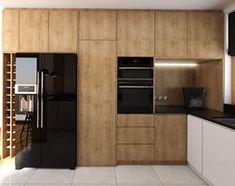 Kuchnia 9m2 - Duża otwarta wąska kuchnia w kształcie litery g z oknem, styl nowoczesny - zdjęcie od Julia Wilczyńska - homebook