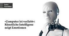 Der grösste Graben zwischen Mensch und Maschine sind unsere Emotionen. #ArtificialIntelligence