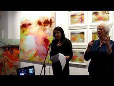 Claire Bridge 'Future Memory' August 2015 Flinders Lane Gallery - YouTube