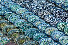 Ceramics for Sale in Tashkent, #Uzbekistan, #ceramics