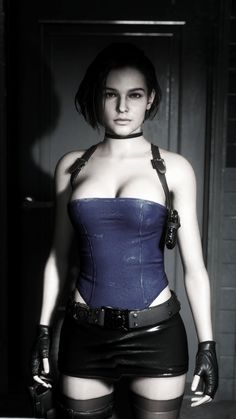 Resident Evil 5, Resident Evil Video Game, Valentine Resident Evil, Evil Art, Jill Valentine, Sarada Uchiha, Actrices Hollywood, Female Characters, Hot Girls