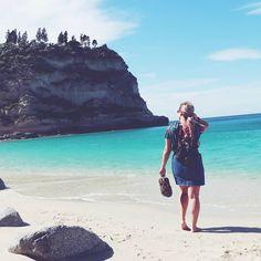 ▪SANDY TOES▪ A tiptoe taste of sea & 70 degrees.  Tropea, Italy