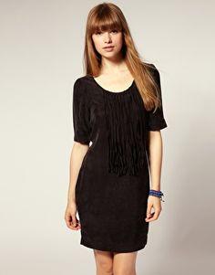 Numph Fringe Detail Dress