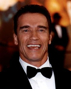"""Arnold Schwarzenegger..at a body building contest..he shook my hand and said """"nice to meet you"""" in that fabulous accent."""