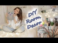 DIY ll Декор Комнаты♥ - YouTube