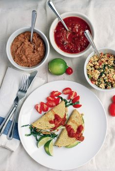 Veggie Scramble Breakfast Tacos!