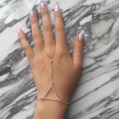#ALEXMIKA Lilah Handchain  alexmikajewelry.com