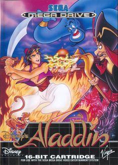 Disney's Aladdin Game for the Sega Mega Drive (Genesis). Buy Now from Fully Retro! Sega Mega Drive, Mega Drive Games, Retro Video Games, Video Game Art, Retro Games, Sega Genesis, Super Nintendo, Pc Gamer, Nintendo Entertainment System