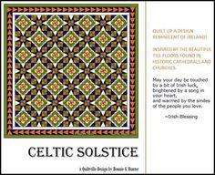 Quiltville's Quips & Snips!!: Celtic Solstice Digital Download!