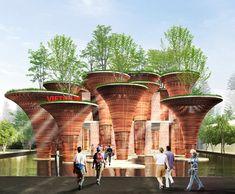 vo trong nghia bambus pavilion world expo 2015