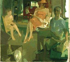 Susan Lichtman - Step Mother, 2004Oil on linen  (via Susan Lichtman: Paintings)